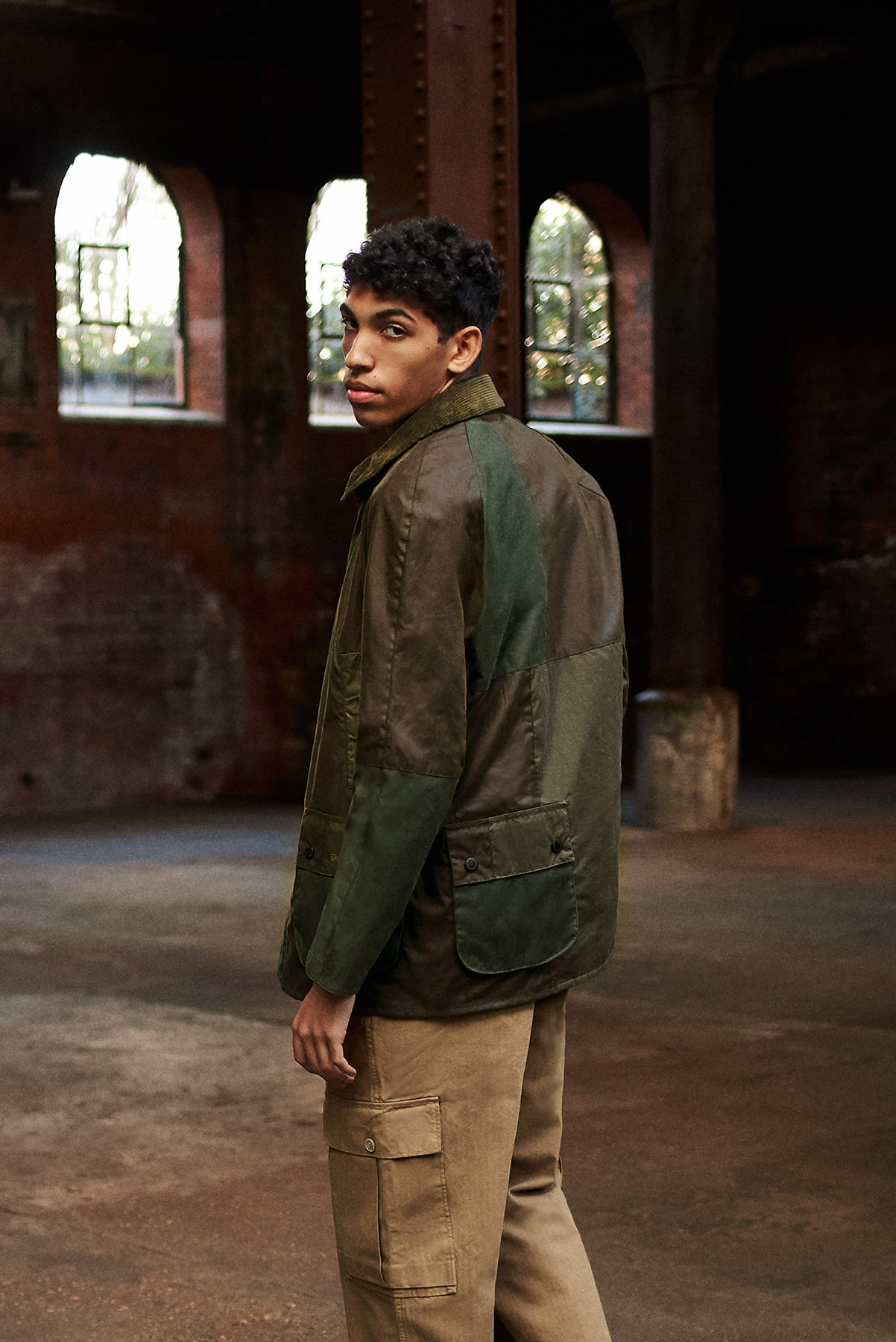 END. X BARBOUR Re-Engineered Ashby - MWX1669-OL