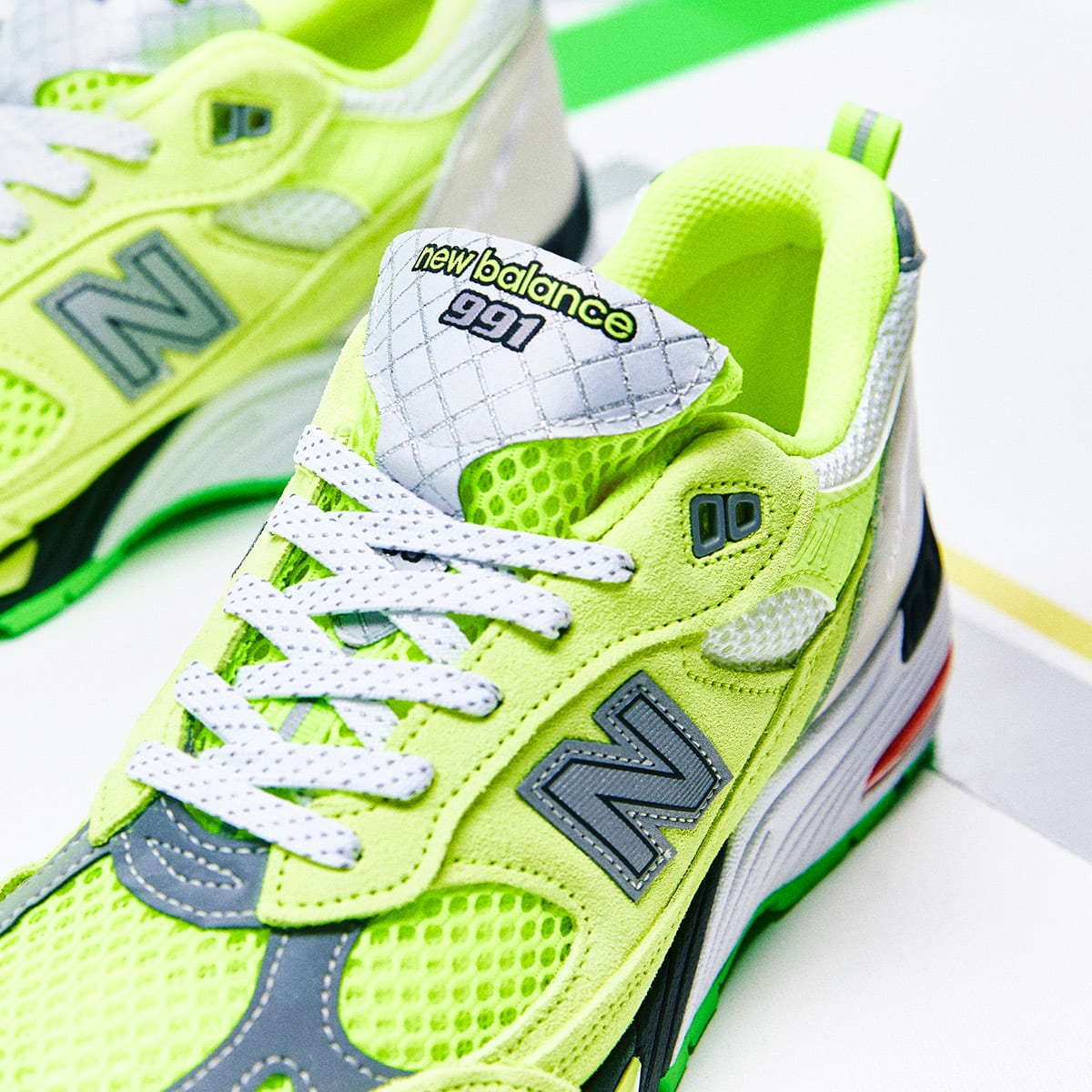 END. Features | Aries x New Balance 991 Made in England