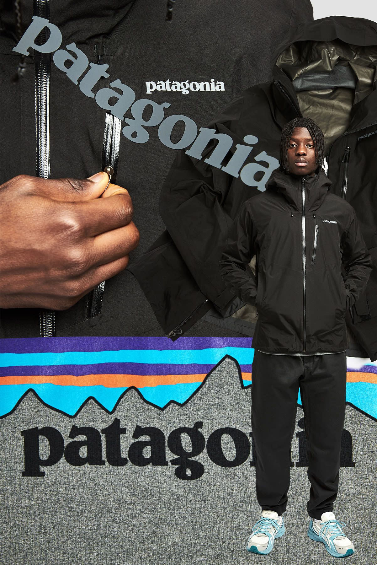 PATAGONIA Calcite Gore-Tex Jacket - 84986-BLK