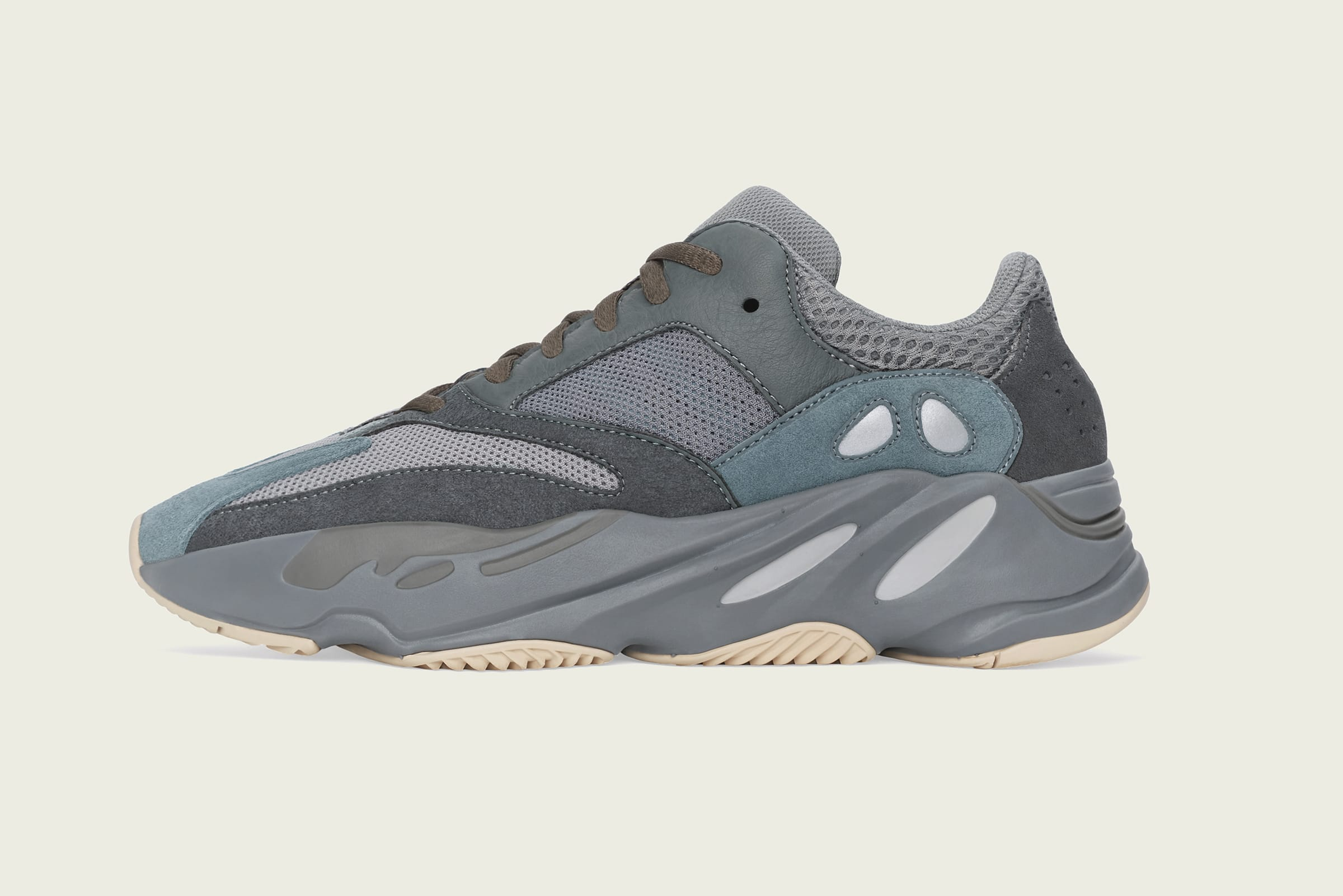 END. Features adidas YEEZY Boost 700 v1 'Teal Blue' title =  adidas YEEZY Boost 700 v1 'Teal Blue