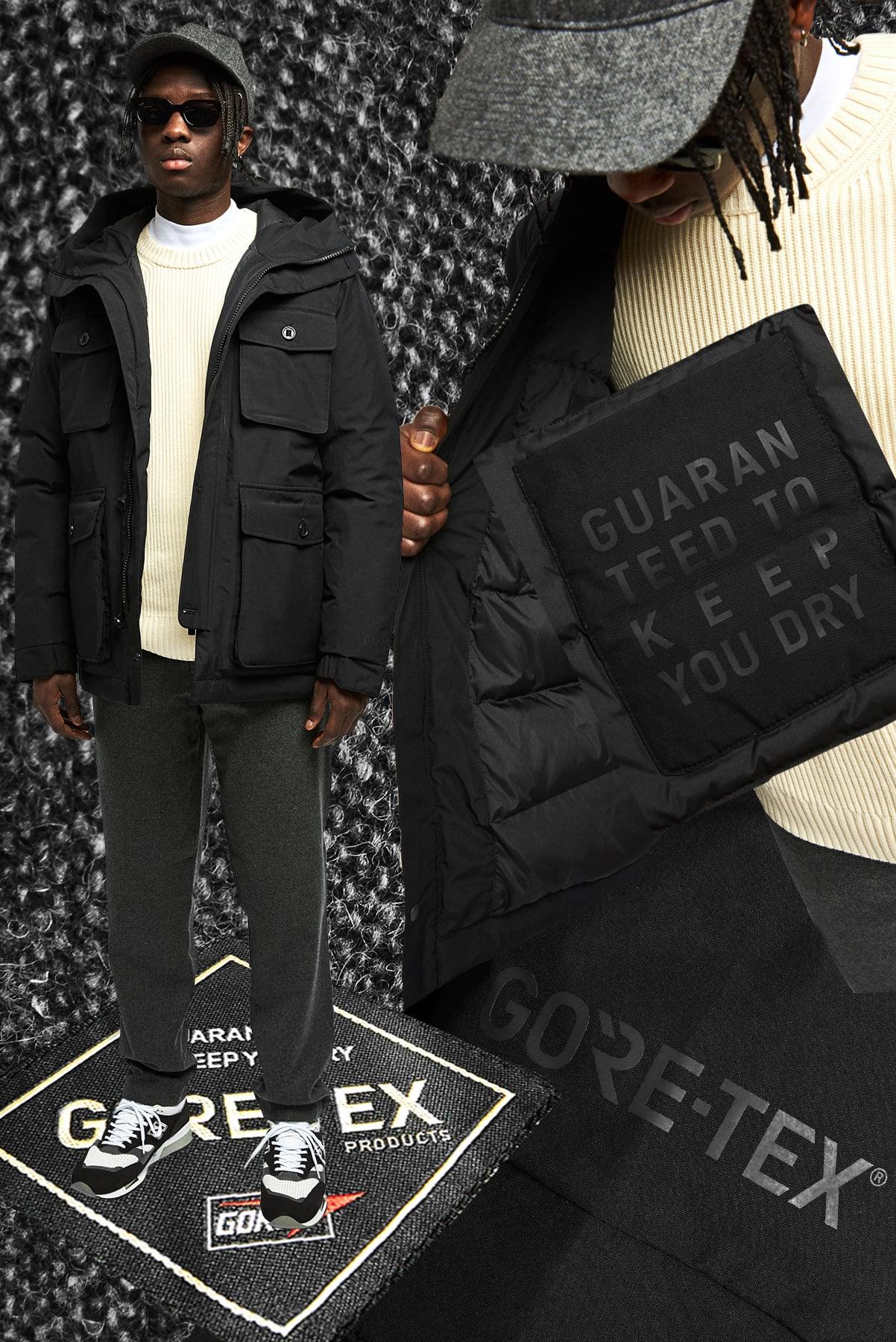 NN07 Goff Gore-Tex Jacket - 2078207792-999