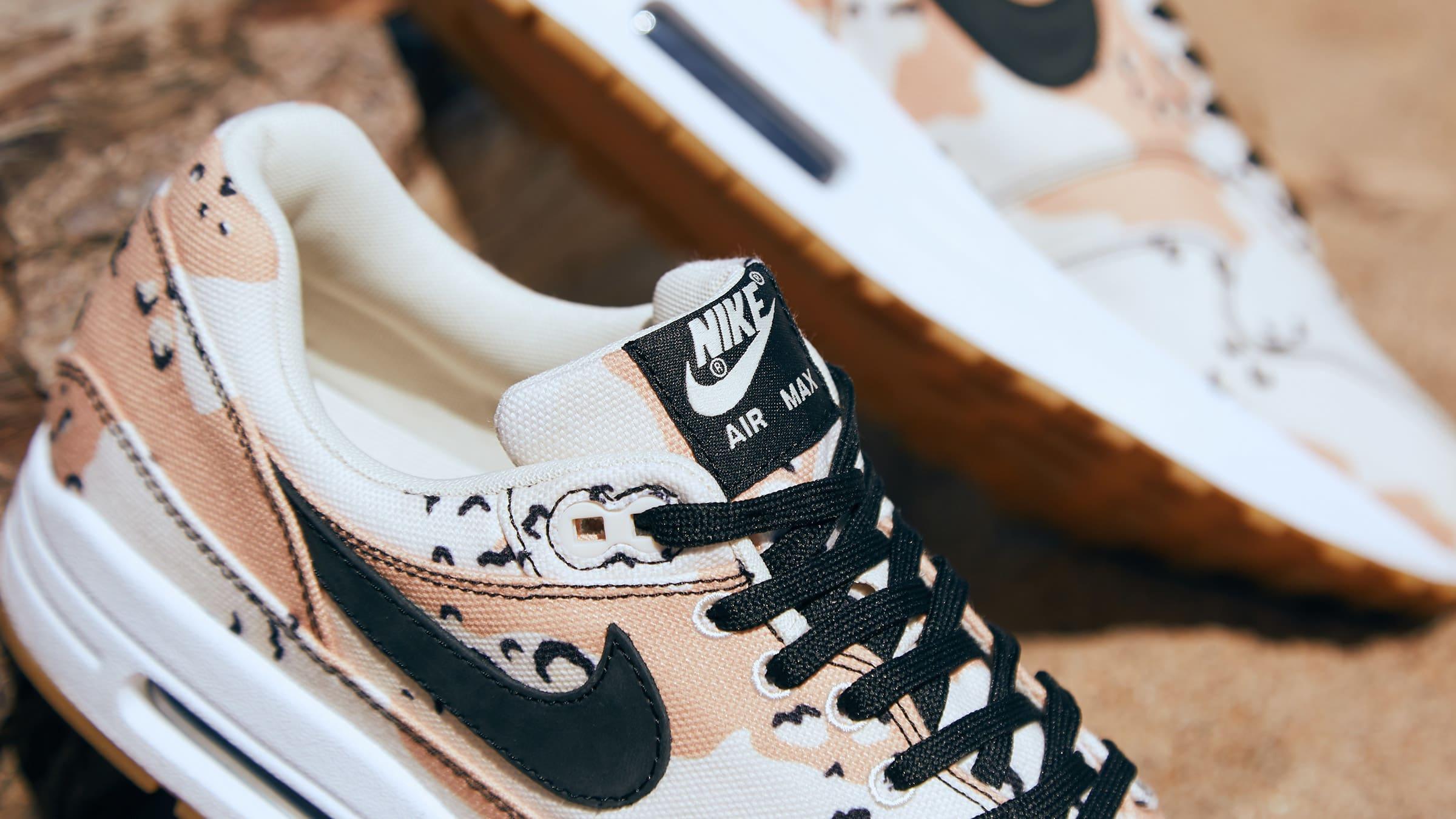 END. Features | Nike Air Max 1 Premium 'Beach Camo