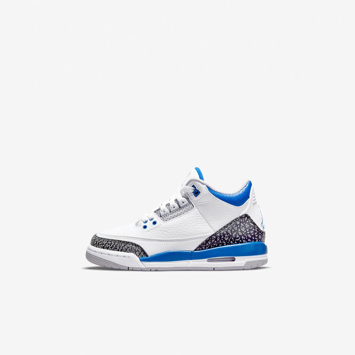 "Air Jordan 3 Retro BG ""Racer Blue"" - 398614-145"