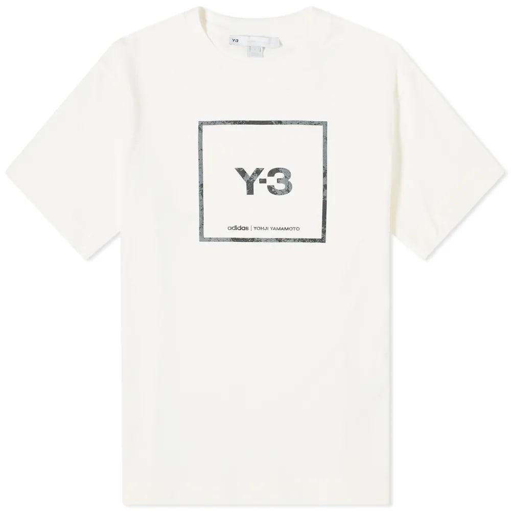 Y-3 Square Label Tee