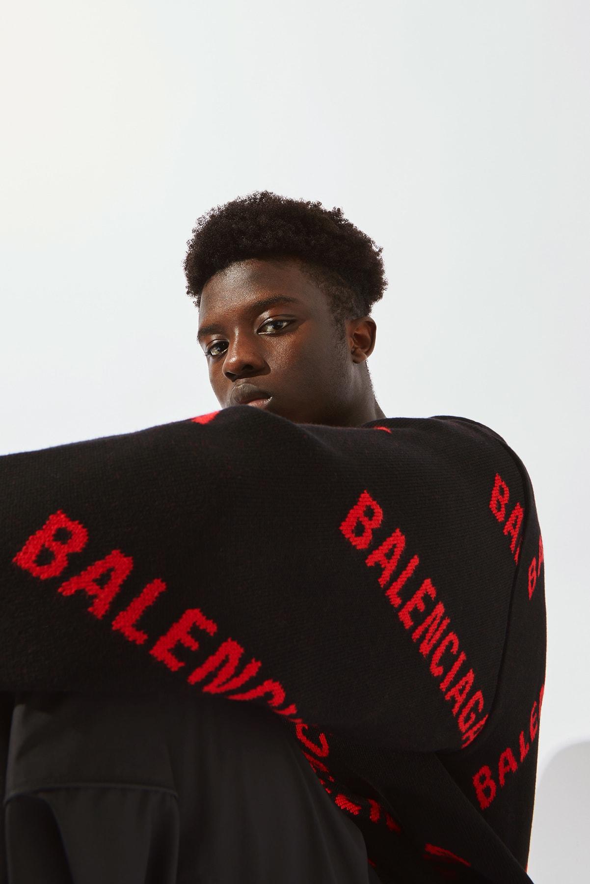 Balenciaga editorial for END.