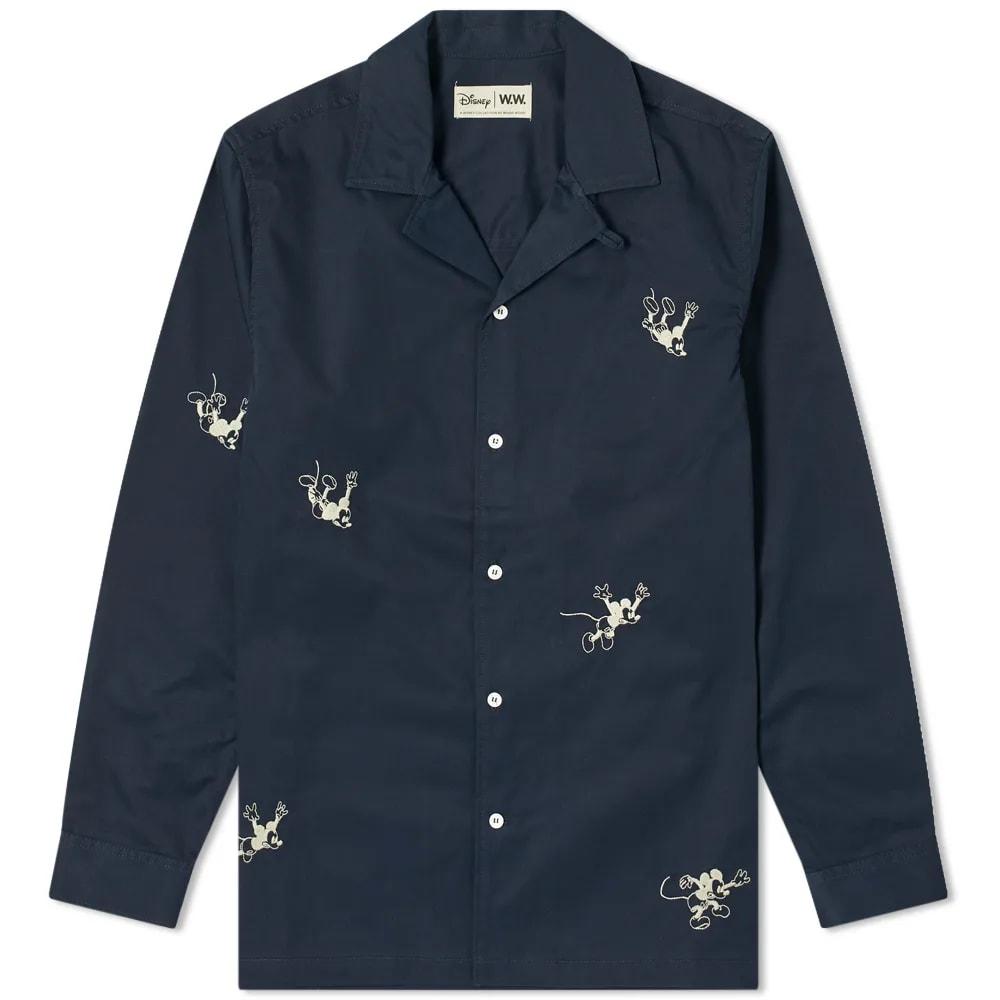 Wood Wood x Disney Anker Overshirt