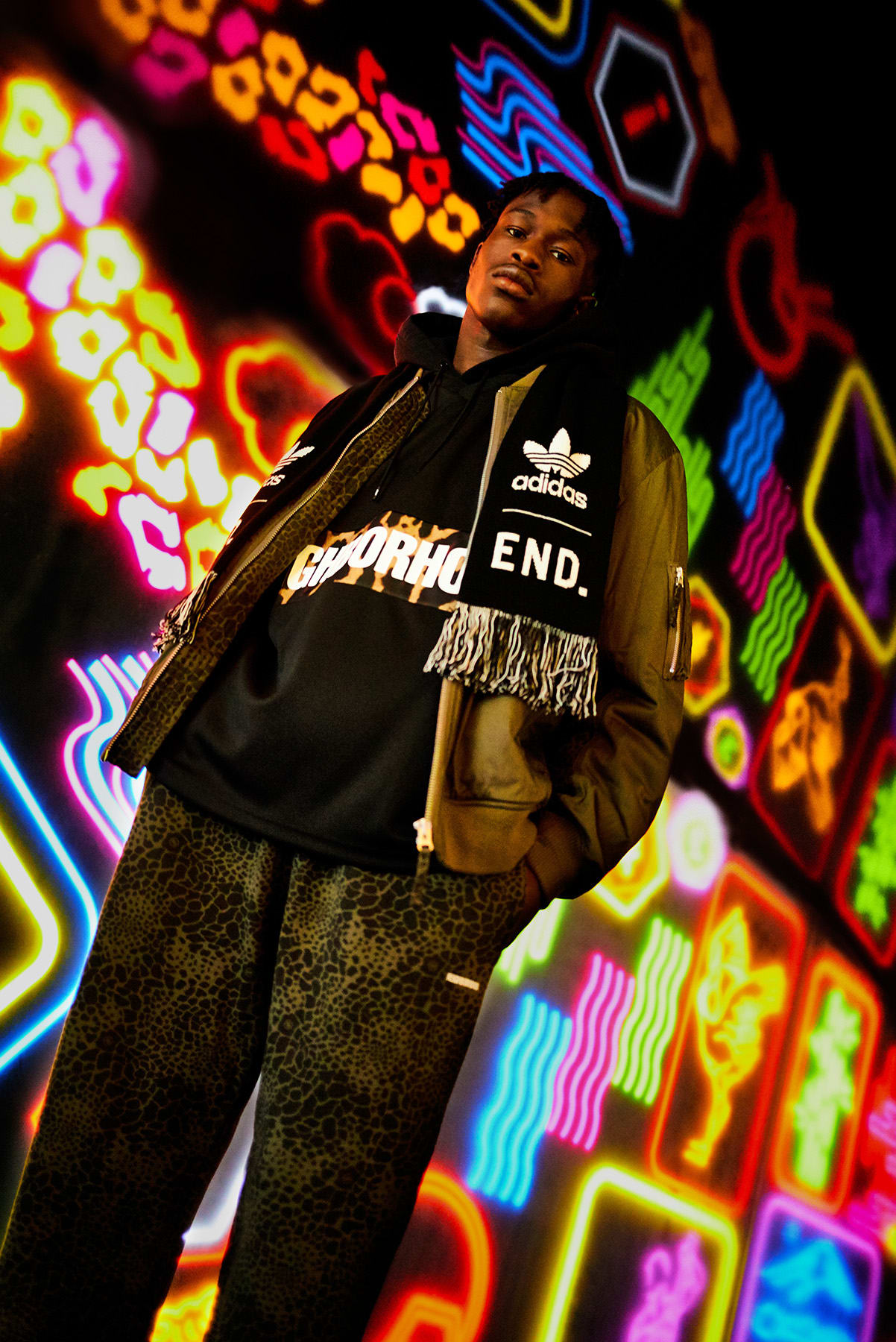 END. x adidas x Neighborhood Look Book