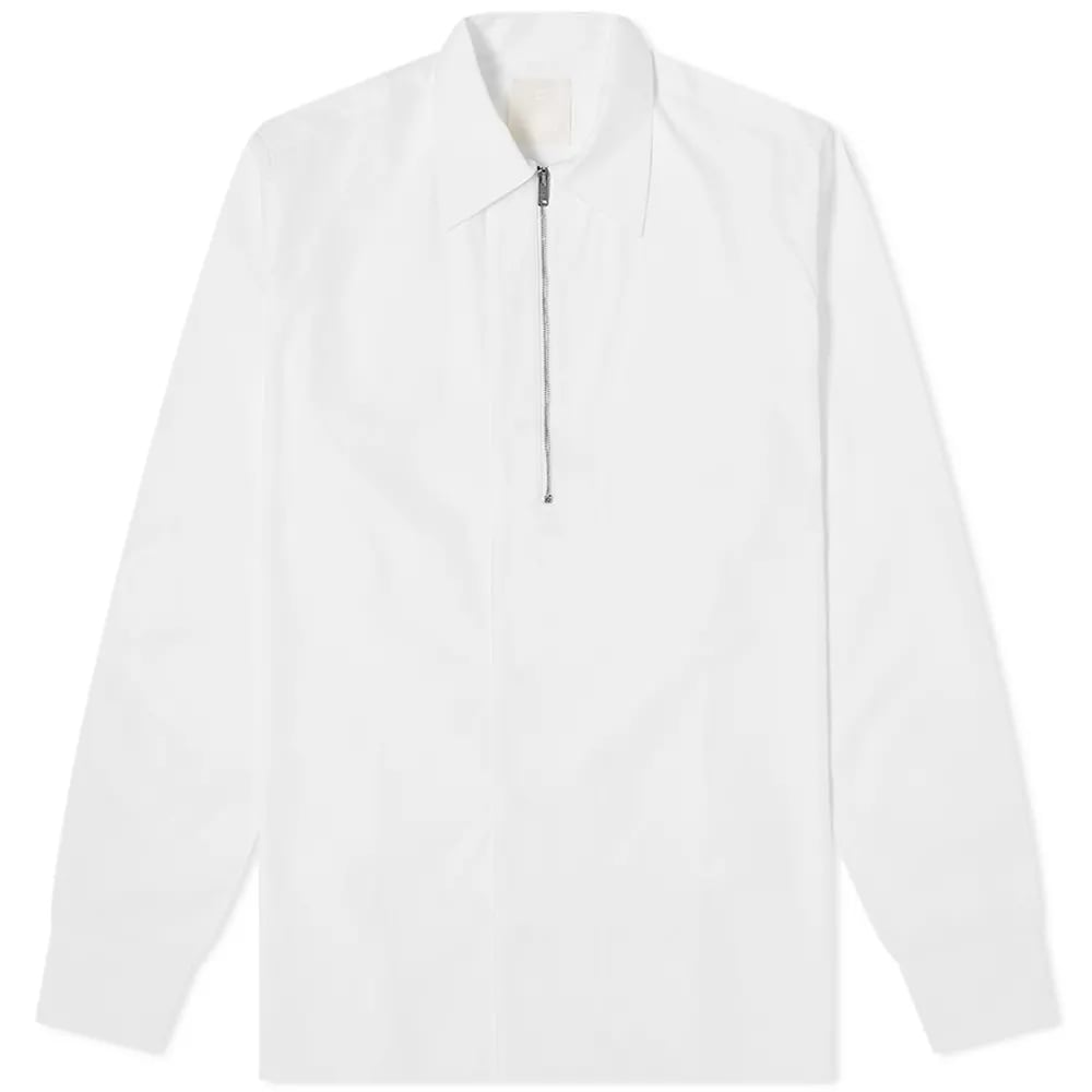 Givenchy Classic Fit Half Zip Shirt