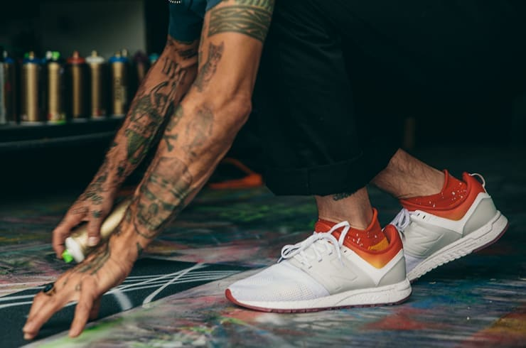 END. Features | New Balance x Stance 247s All Day All Night Pack ...
