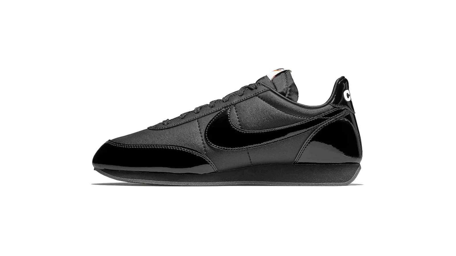 grande vente ec0c5 217a0 END. Features | Nike x Comme des Garcons Black Night Track ...