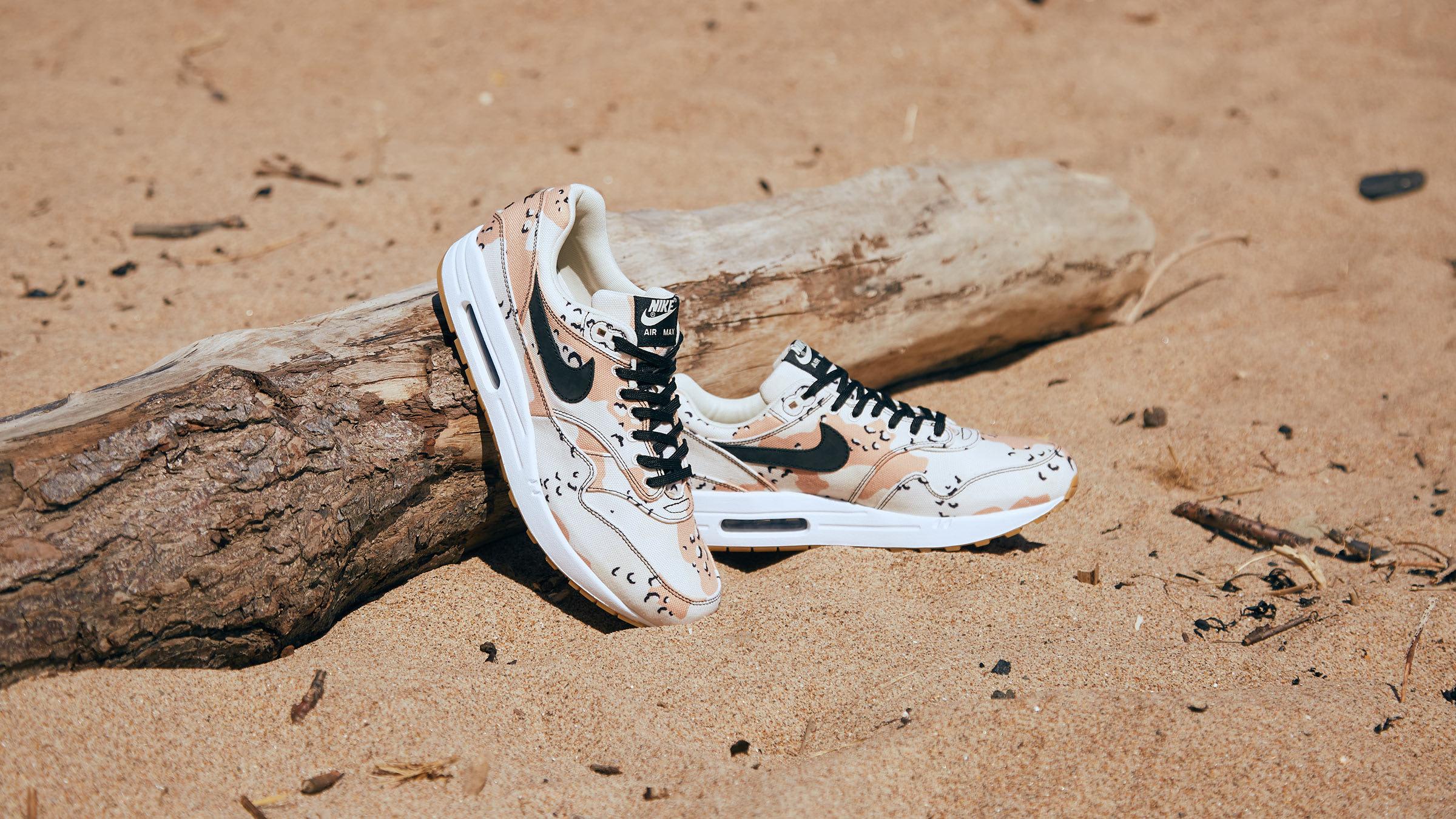 Air Max 1 Premium Sneakers, Desert Camo