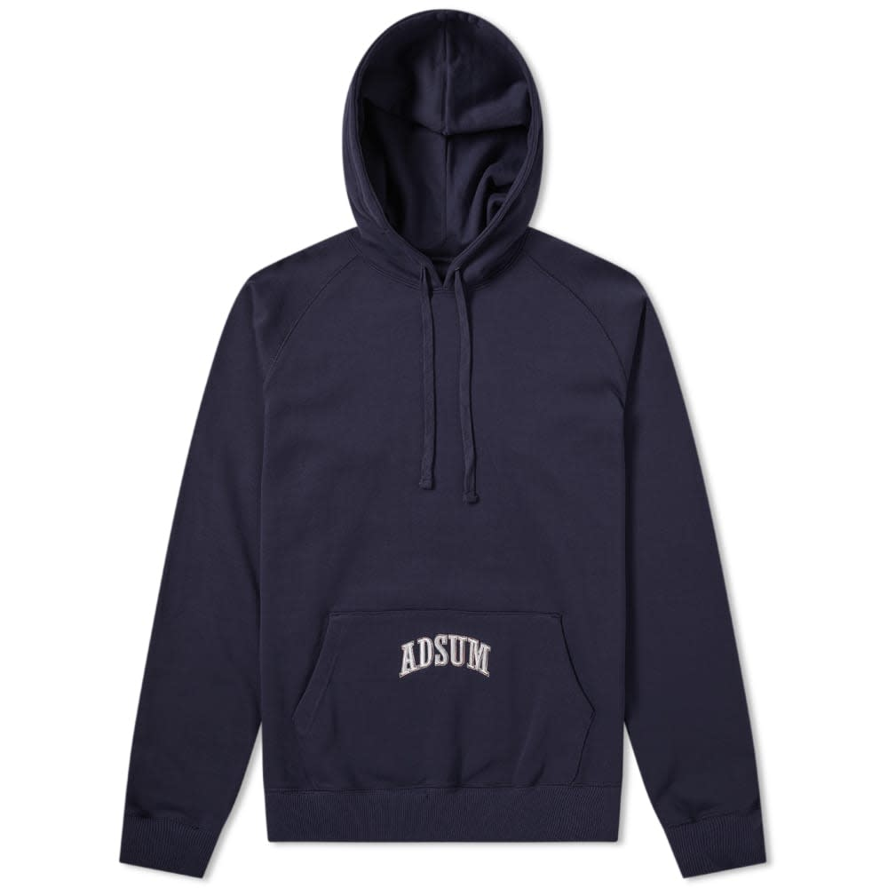 Washed Collegiate Popover Hoody
