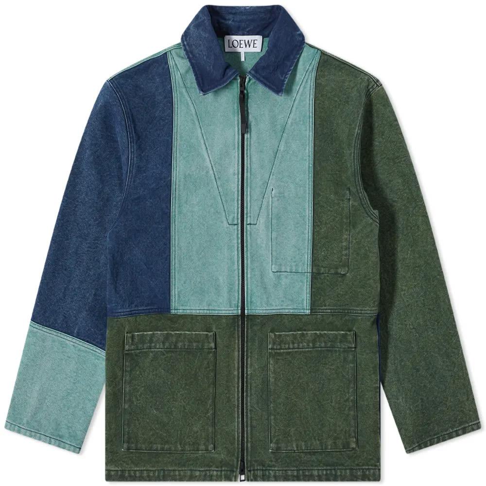 Loewe ELN Multi Colour Shell Jacket