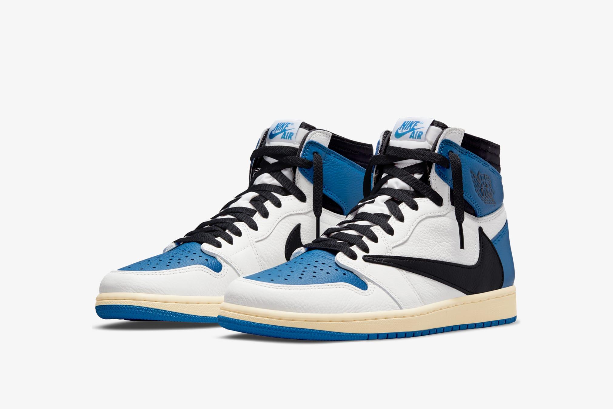 Nike x Fragment Design x Travis Scott Air Jordan 1 Retro High OG - DH3227-105