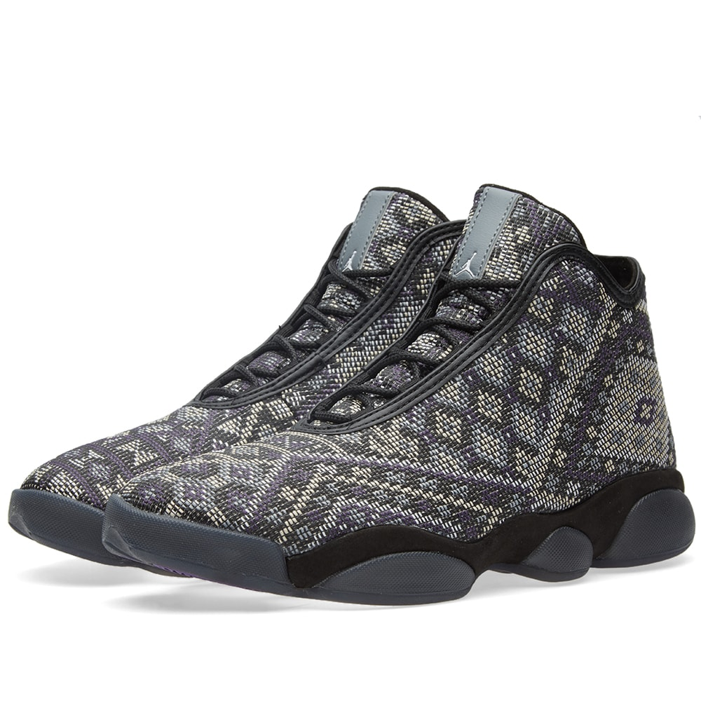 e17909876f4a70 Nike Jordan Horizon Premium Black   Purple Steel