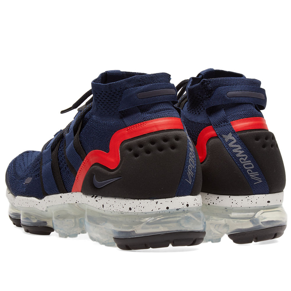 cheaper 1192a 42379 Nike Air VaporMax Flyknit Utility College Navy, Black   Red   END.