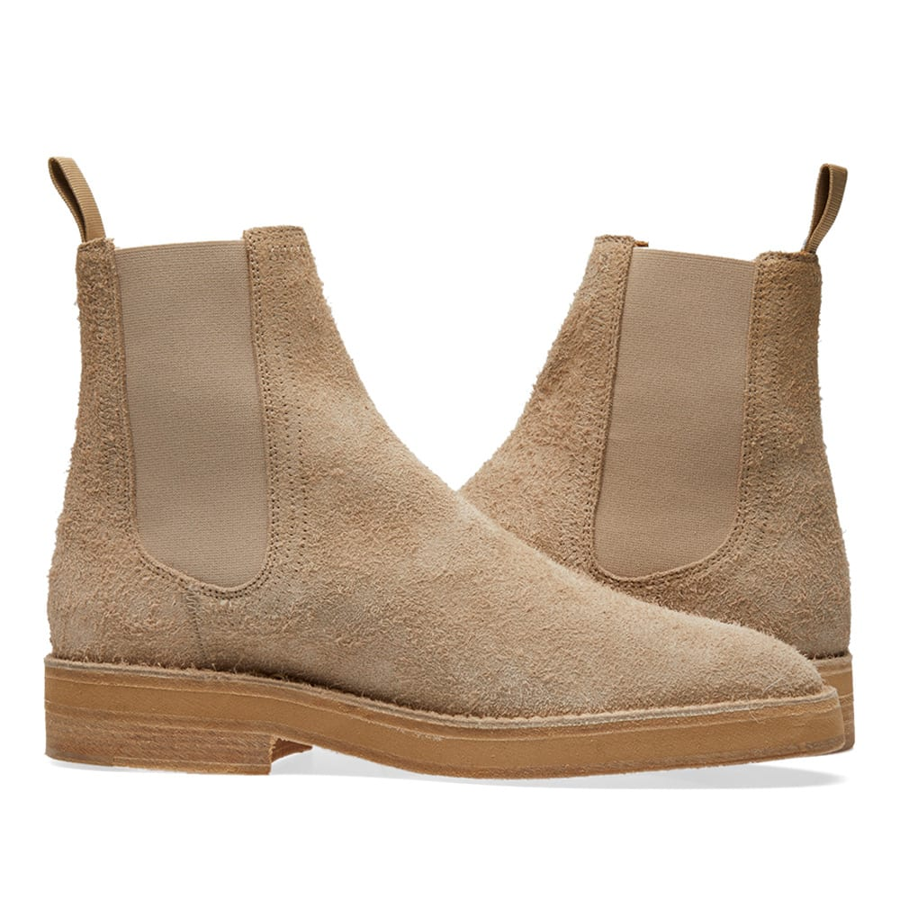 34f429f359a Yeezy Season 6 Chelsea Boot Taupe