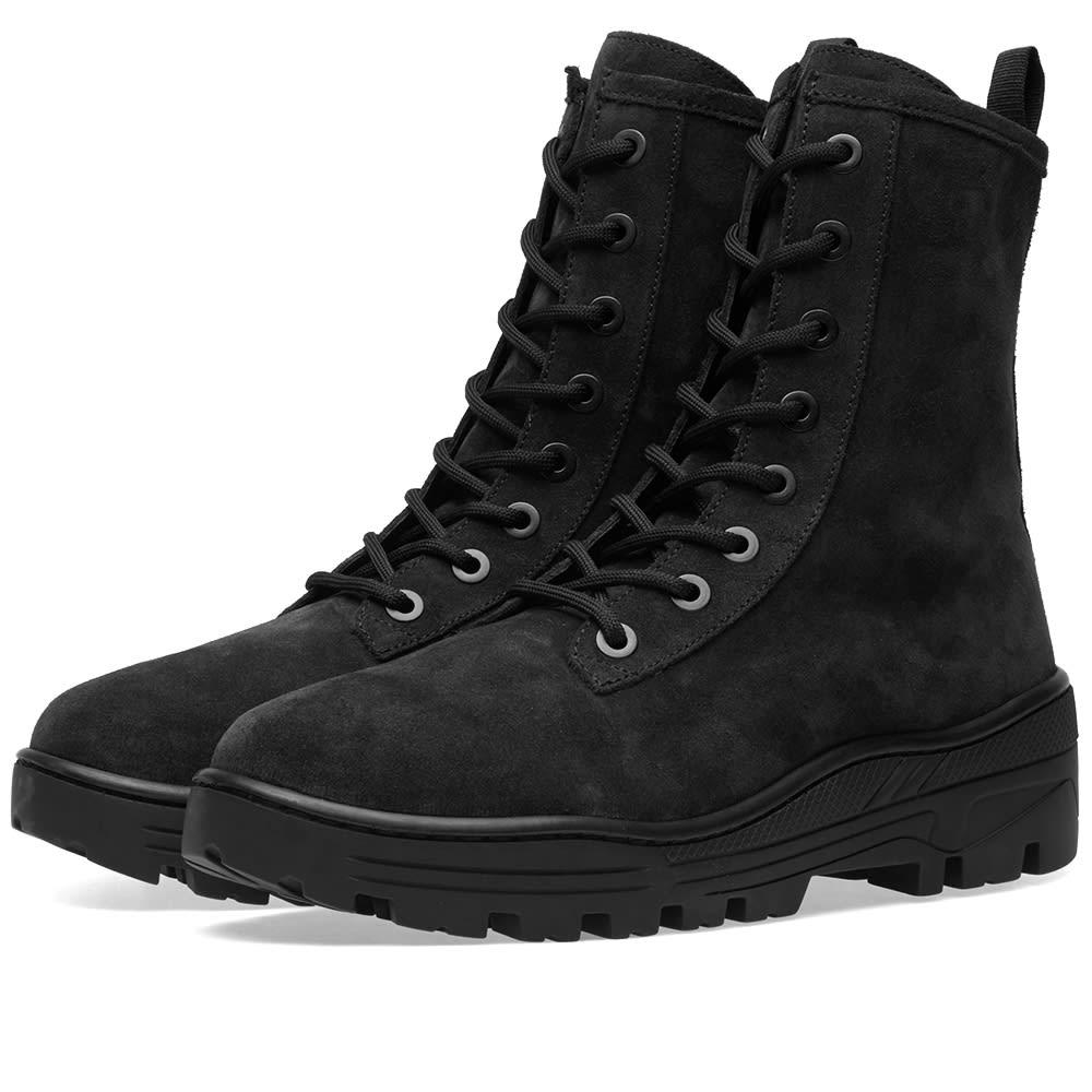 897beb1bdd0 Yeezy Season 6 Combat Boot Black