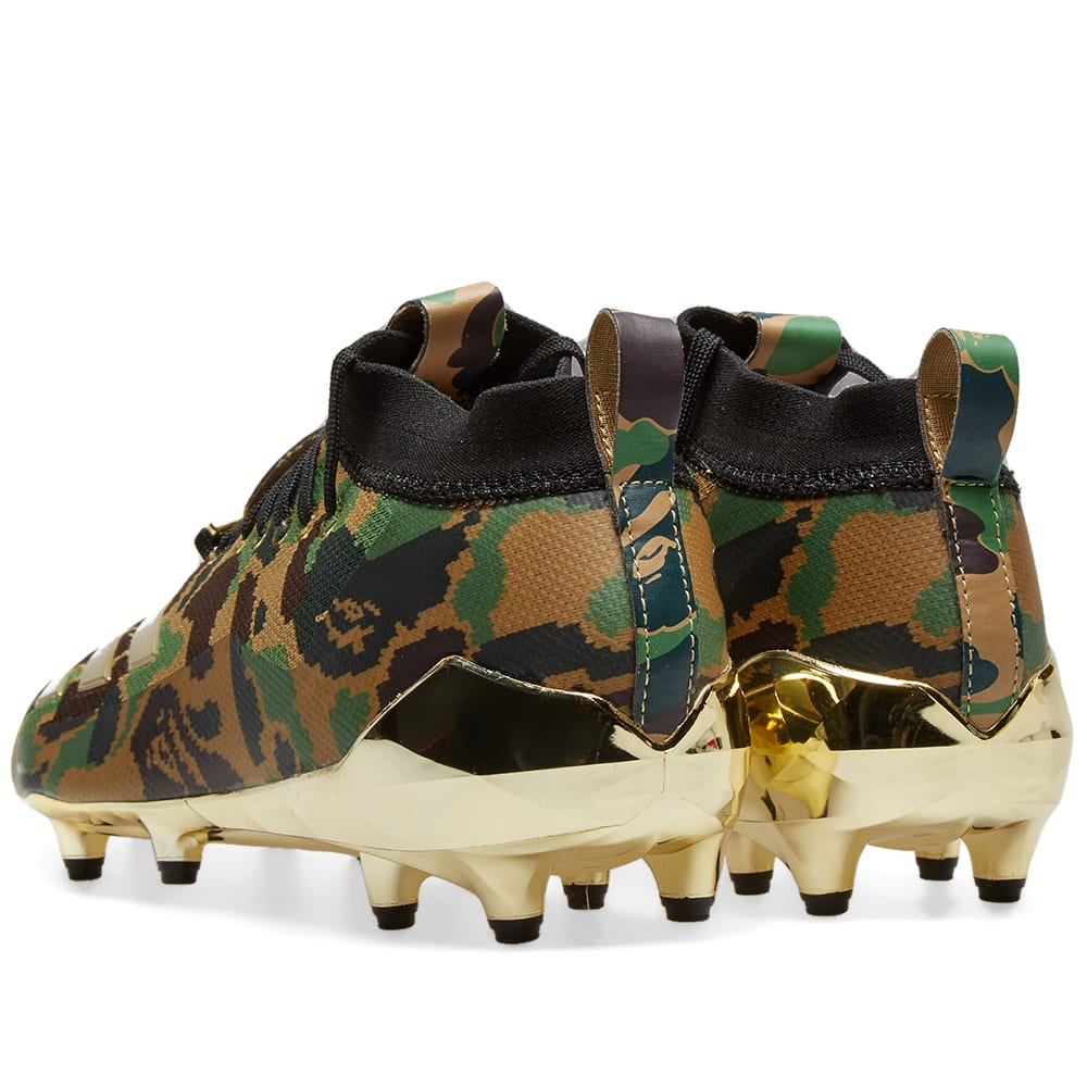 df5a3625a Adidas x BAPE Cleat Green Camo
