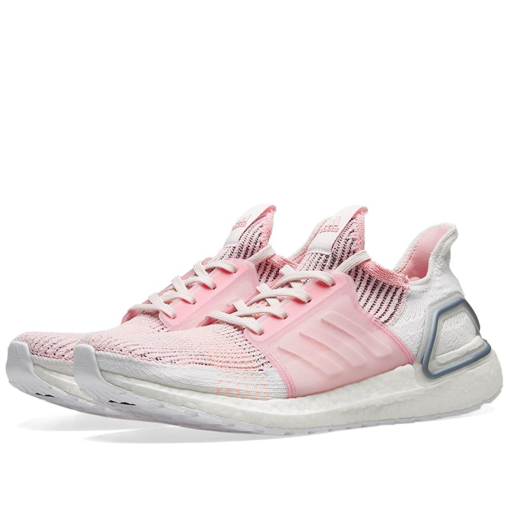 f09793f23 Adidas Ultra Boost 19 W True Pink   Orchid Tint