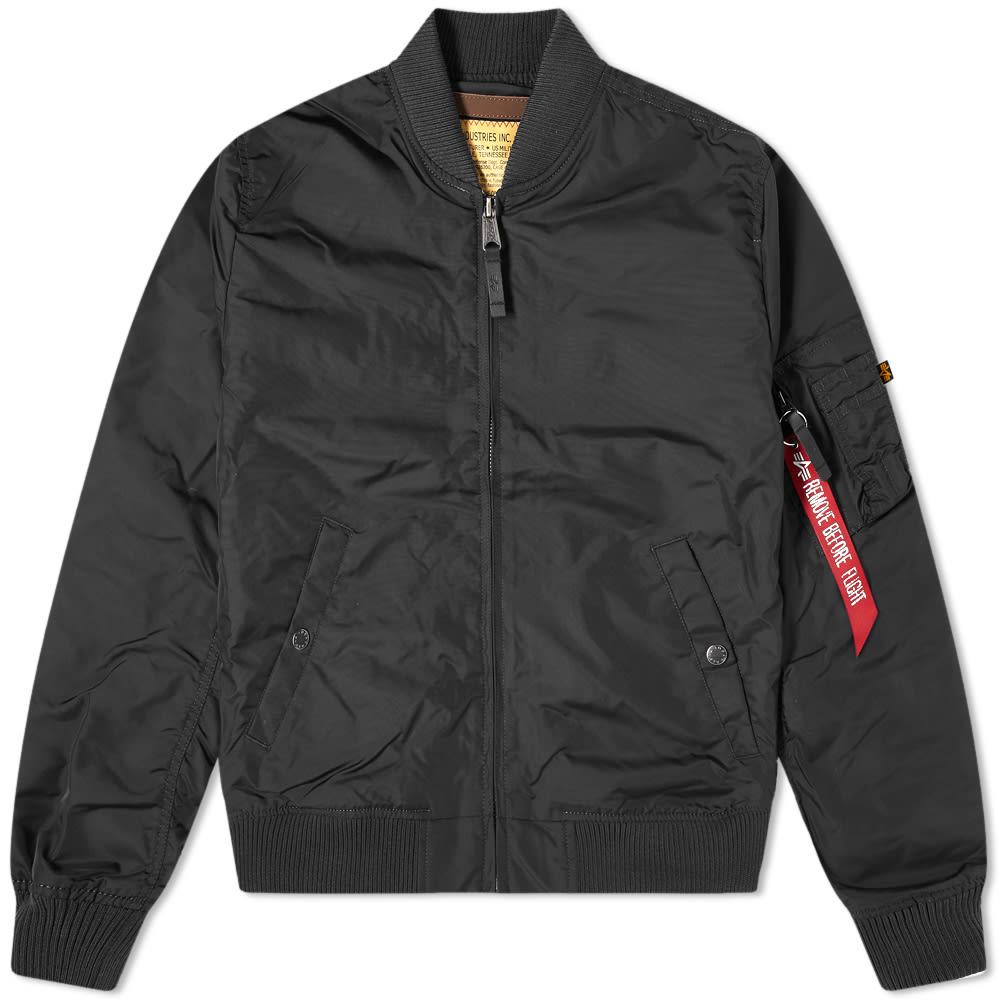 Alpha Industries MA-1 TT Jacket Black | END.