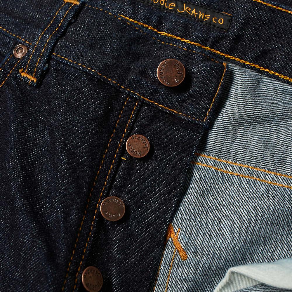 Nudie Jeans Sleepy Sixten rincés Jean Bnwt Homme Designer Denim Pantalon 112899