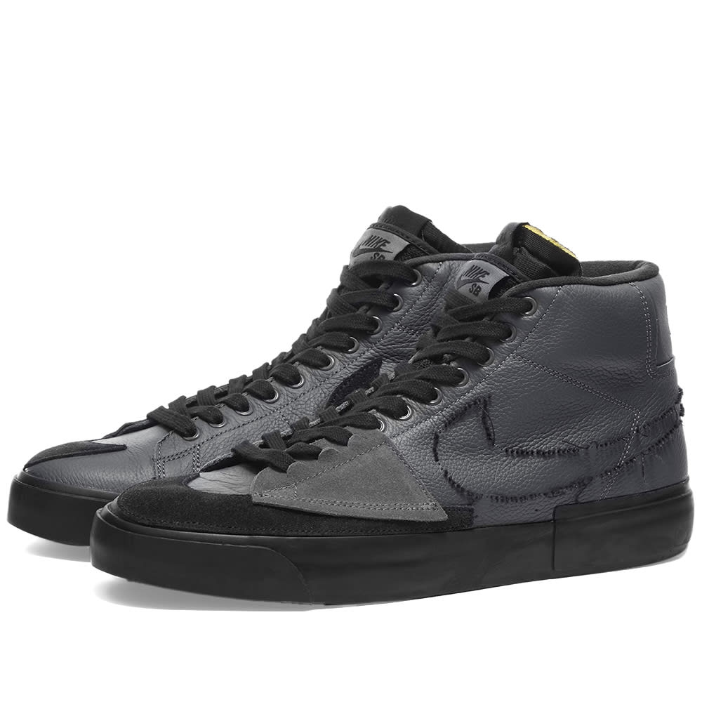 Nike SB Zoom Blazer Mid Edge Iron Grey & Black | END.