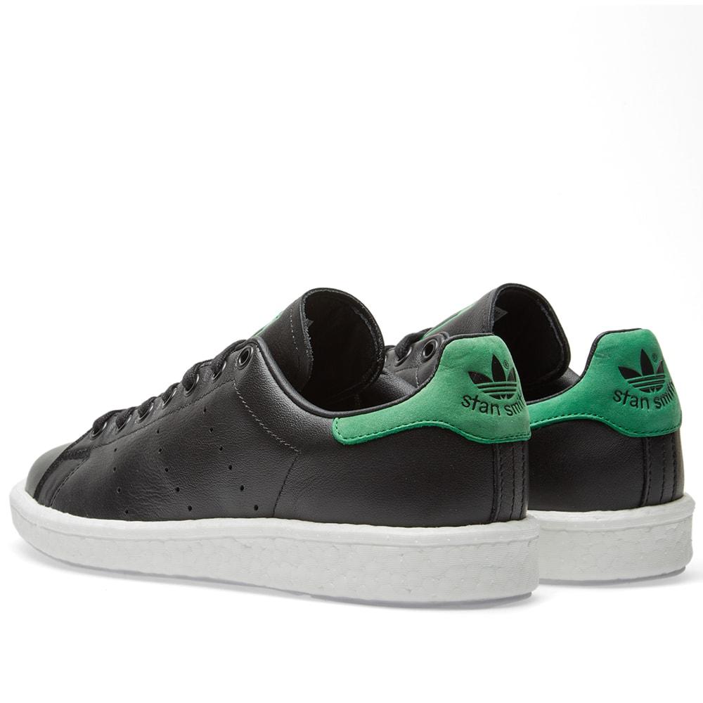 Adidas Stan Smith Boost Black \u0026 Green