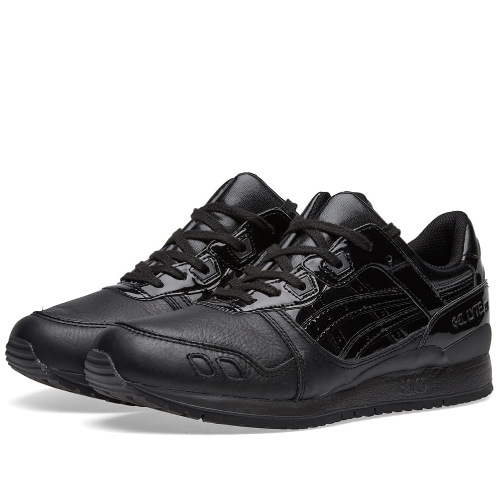 gel lyte 3 all black