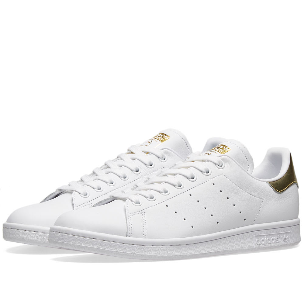 timeless design 65dca cdd25 Adidas Stan Smith W White   Gold Metallic   END.