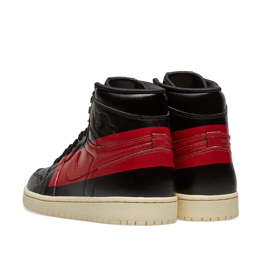 buy popular d274e 77011 Air Jordan 1 High OG Defiant Black, Gym Red   Muslin   END.