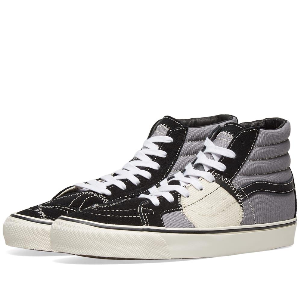 Vans 2019 Men Shoes Vans Og Sk8 hi Lx Vault Black Black