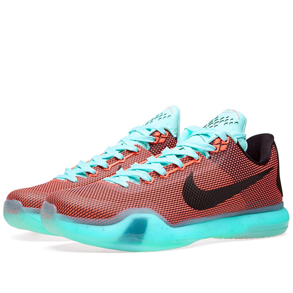 Nike Kobe X 'Easter' Hot Lava \u0026 Black