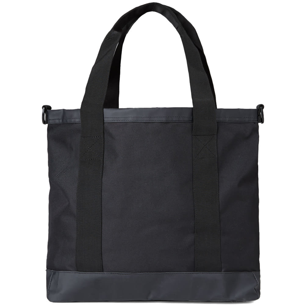 stussy x herschel supply co classic tote bag black. Black Bedroom Furniture Sets. Home Design Ideas