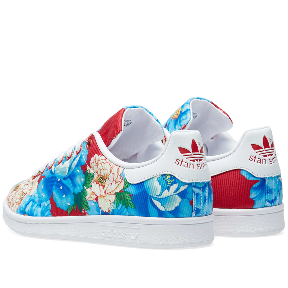best service f3283 e4305 Adidas Women's Stan Smith Floral W