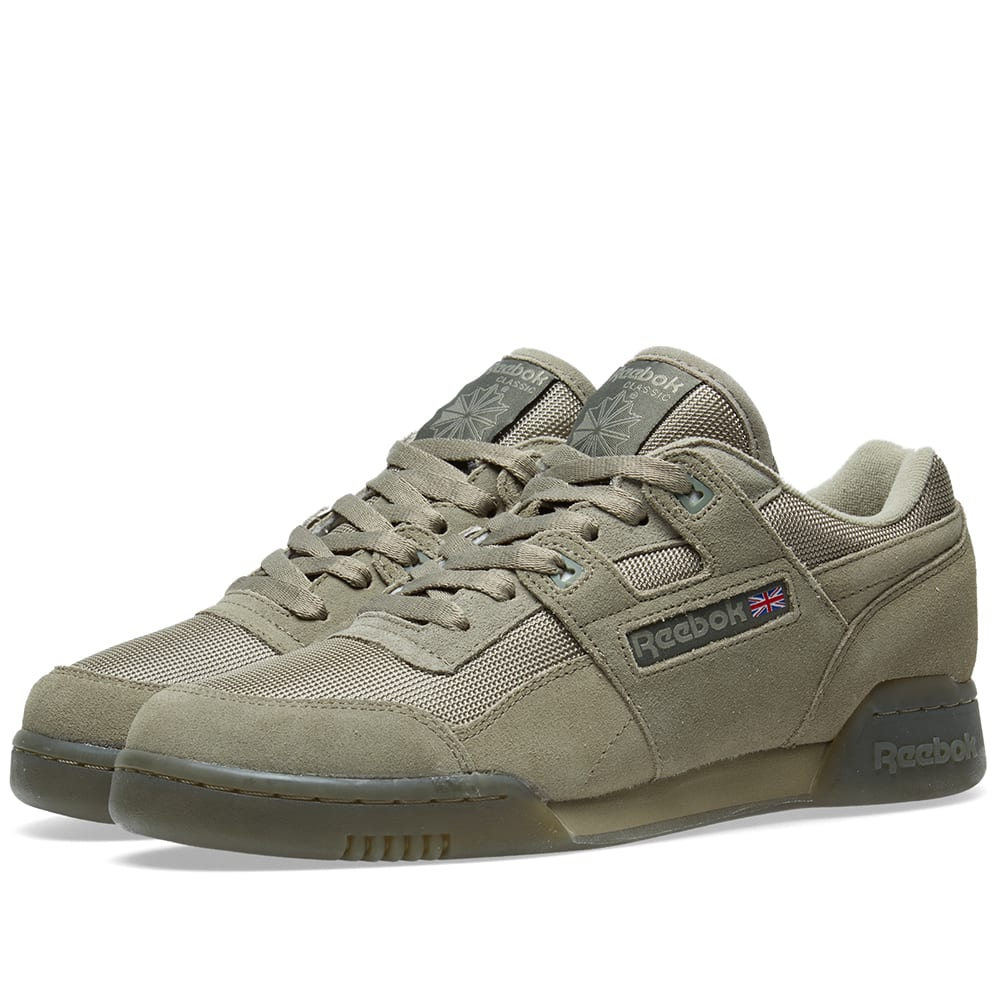 reebok workout plus khaki