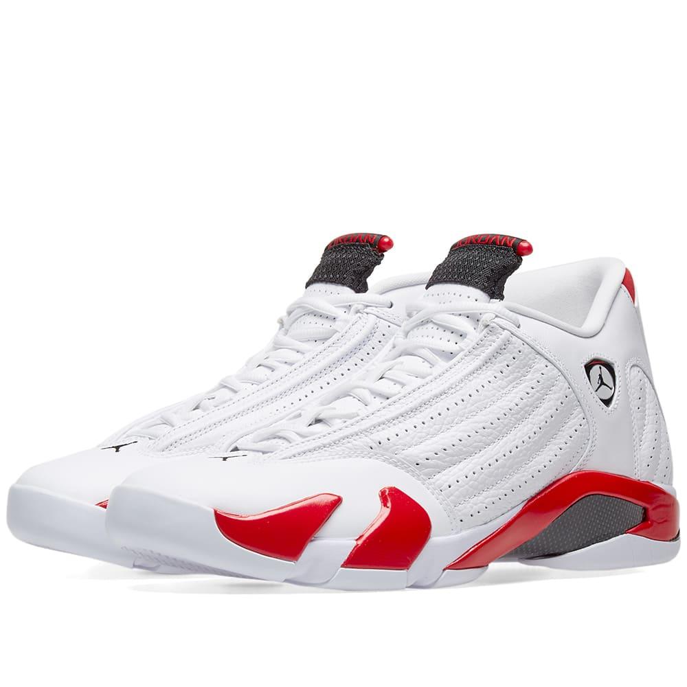 3054e5506de7f0 Nike Air Jordan XIV OG White