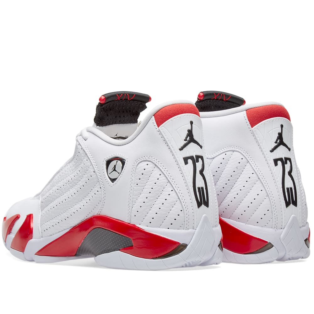buy popular 08dac 933b8 Nike Air Jordan XIV OG White, Black   Varsity Red   END.