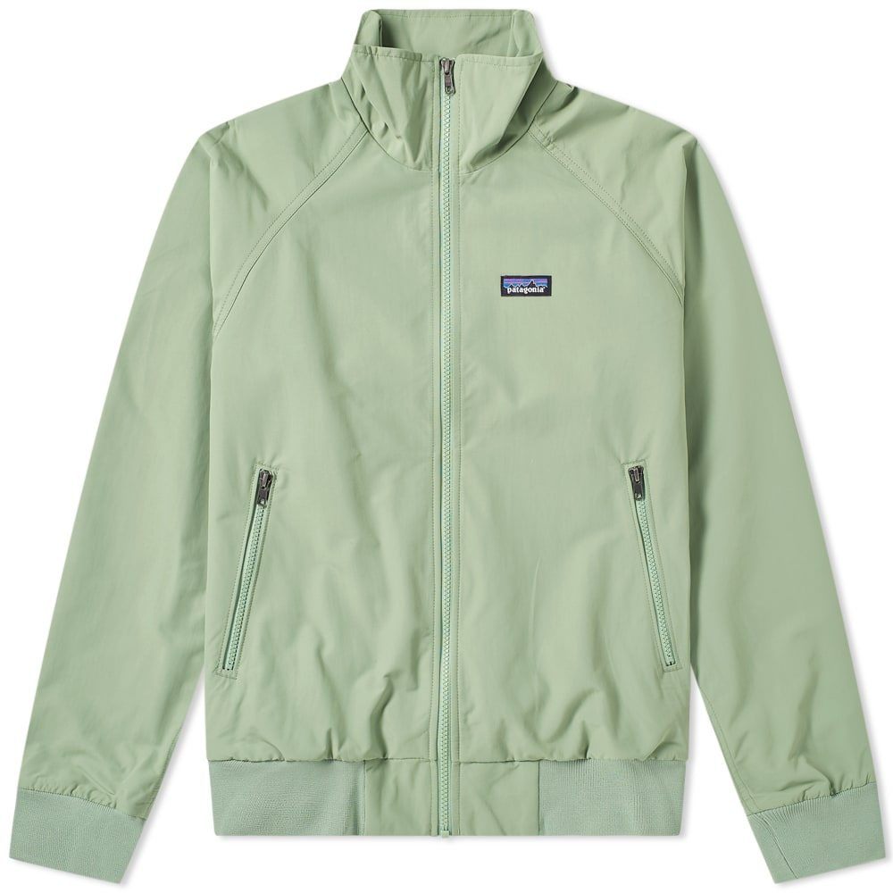 Patagonia Baggies Burnie: Patagonia Baggies Jacket Matcha Green