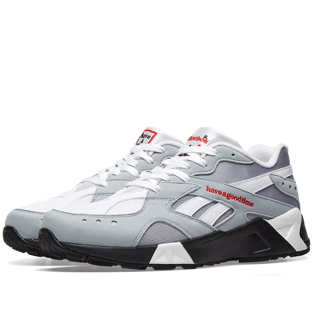 d3e67992a9e Reebok x Have a Good Time Aztrek Cool Shadow   Cold Grey