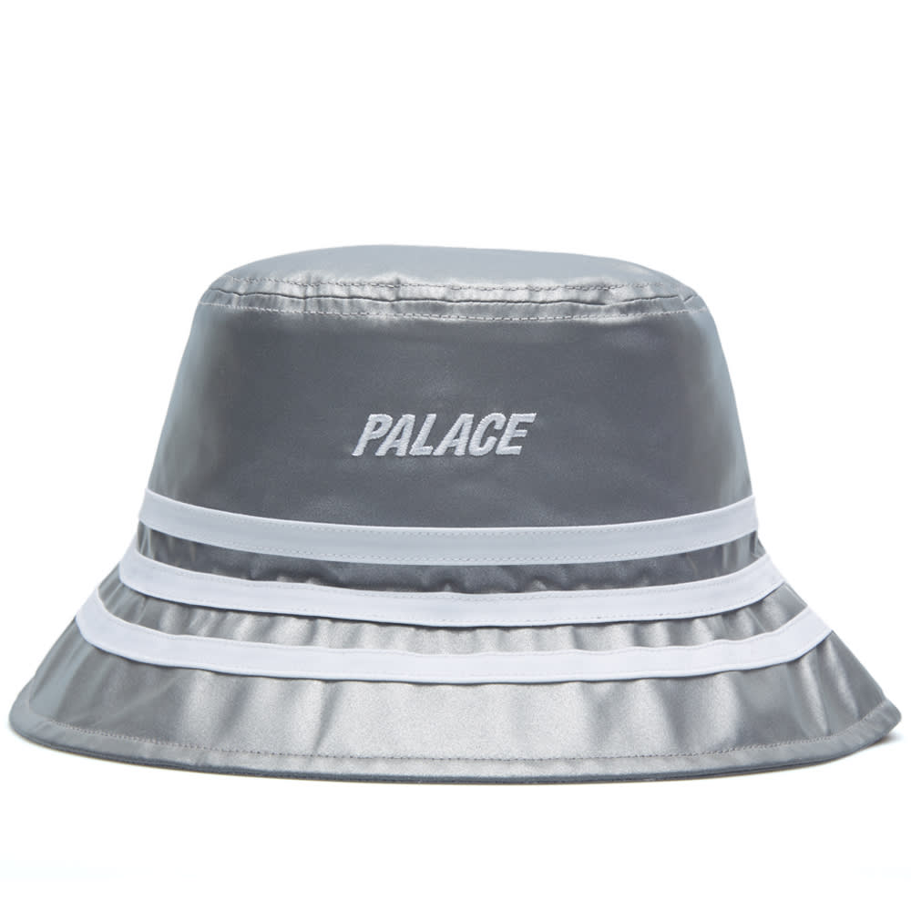 0e00fd12f7cd3 Adidas x Palace Bucket Hat Reflective Grey