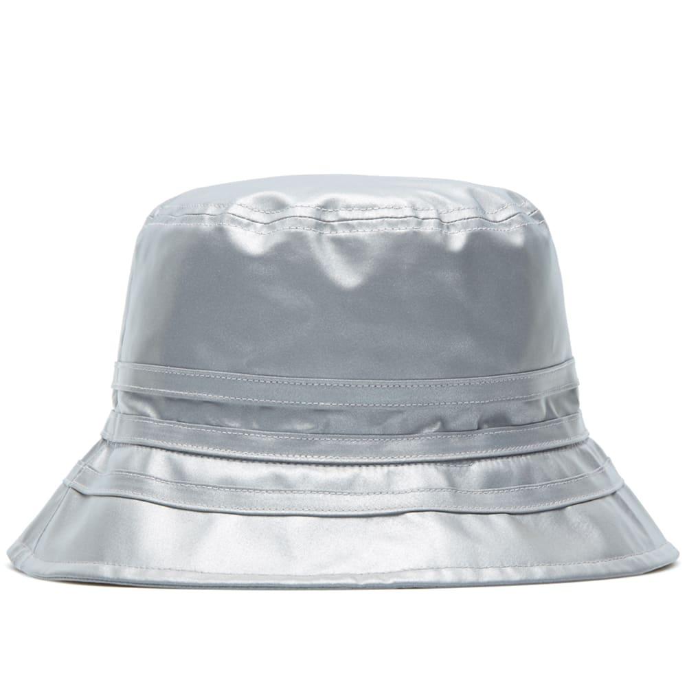 433ef942de859 Adidas x Palace Bucket Hat Reflective Grey