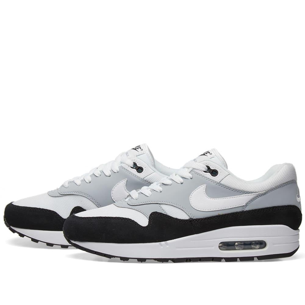 promo code 8c0cd 48351 Nike Air Max 1 Wolf Grey, White   Black   END.