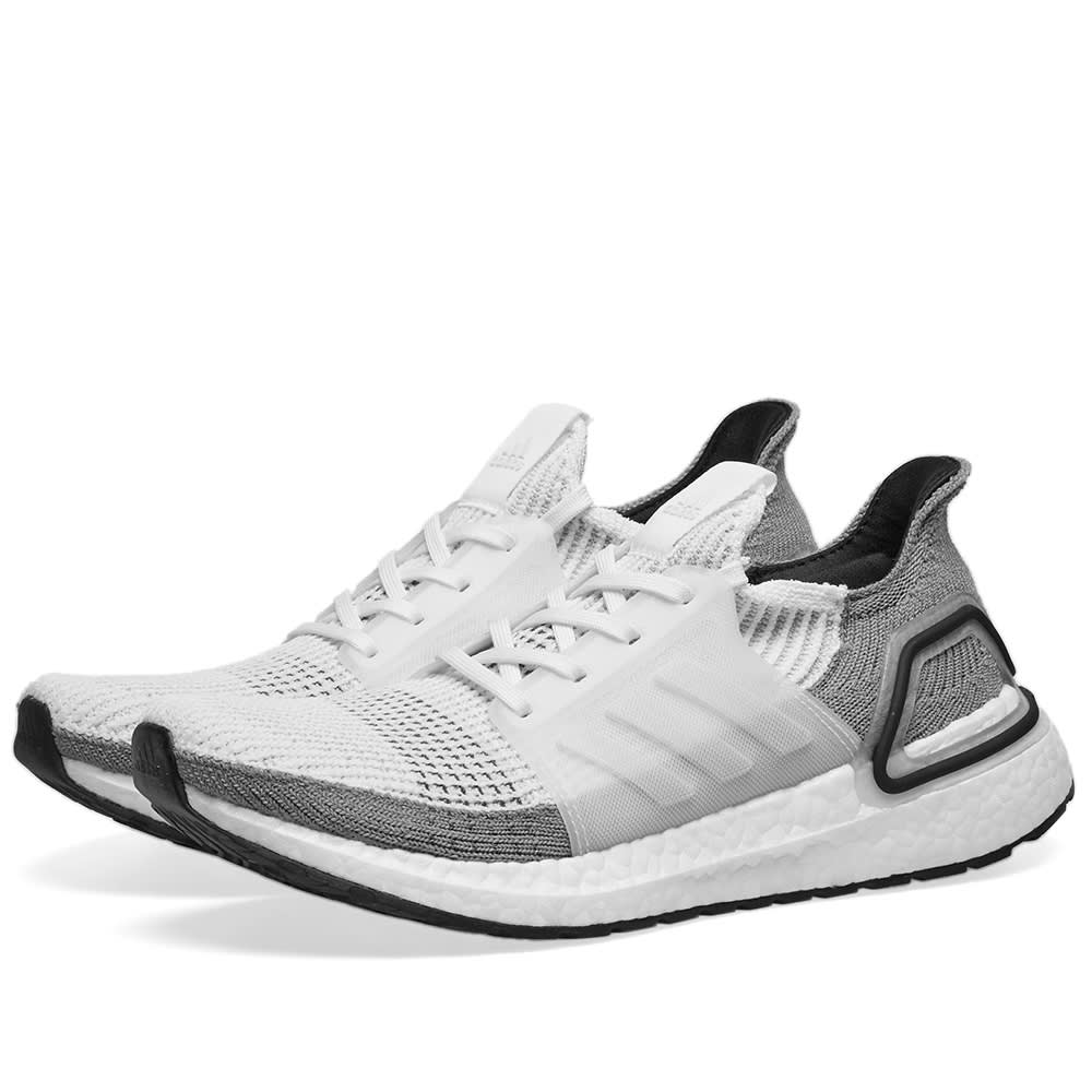 fd9a8d42c73 Adidas Ultra Boost 19 W White