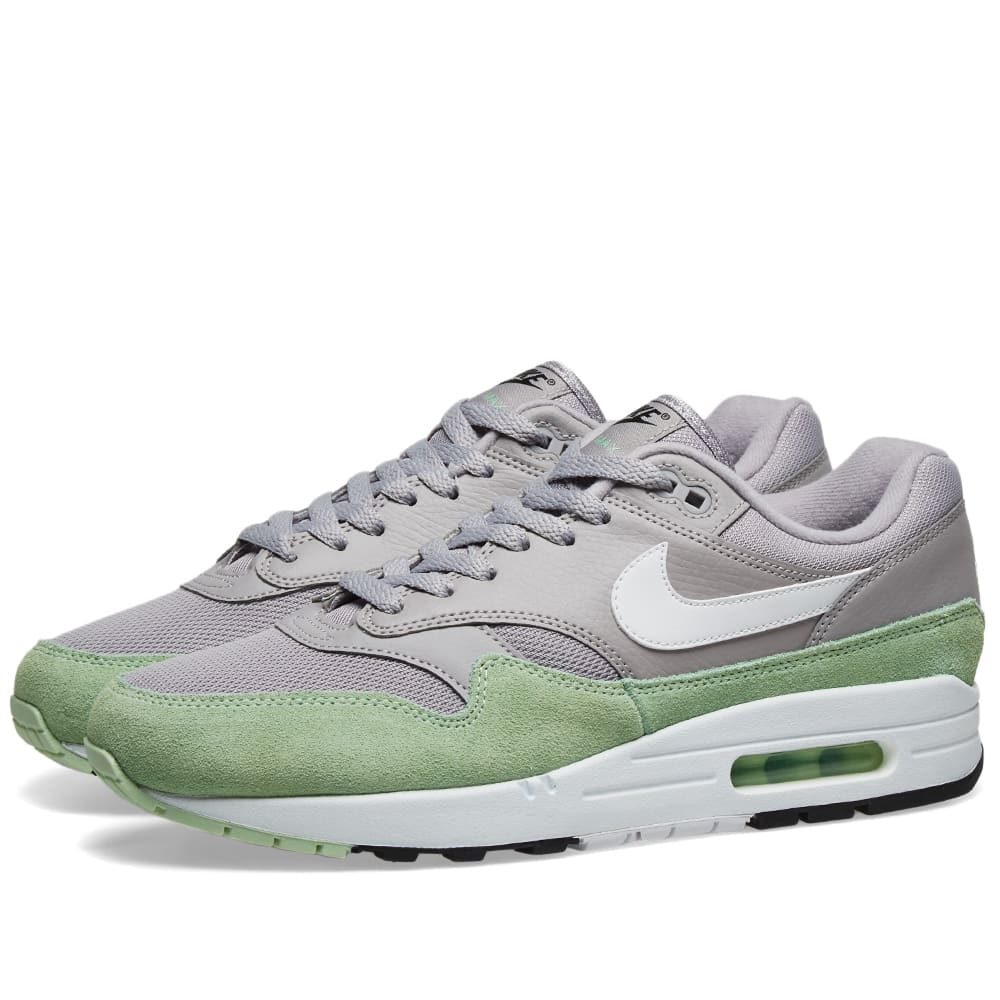 newest 203aa b209f Nike Air Max 1 Grey, White, Mint   Black   END.