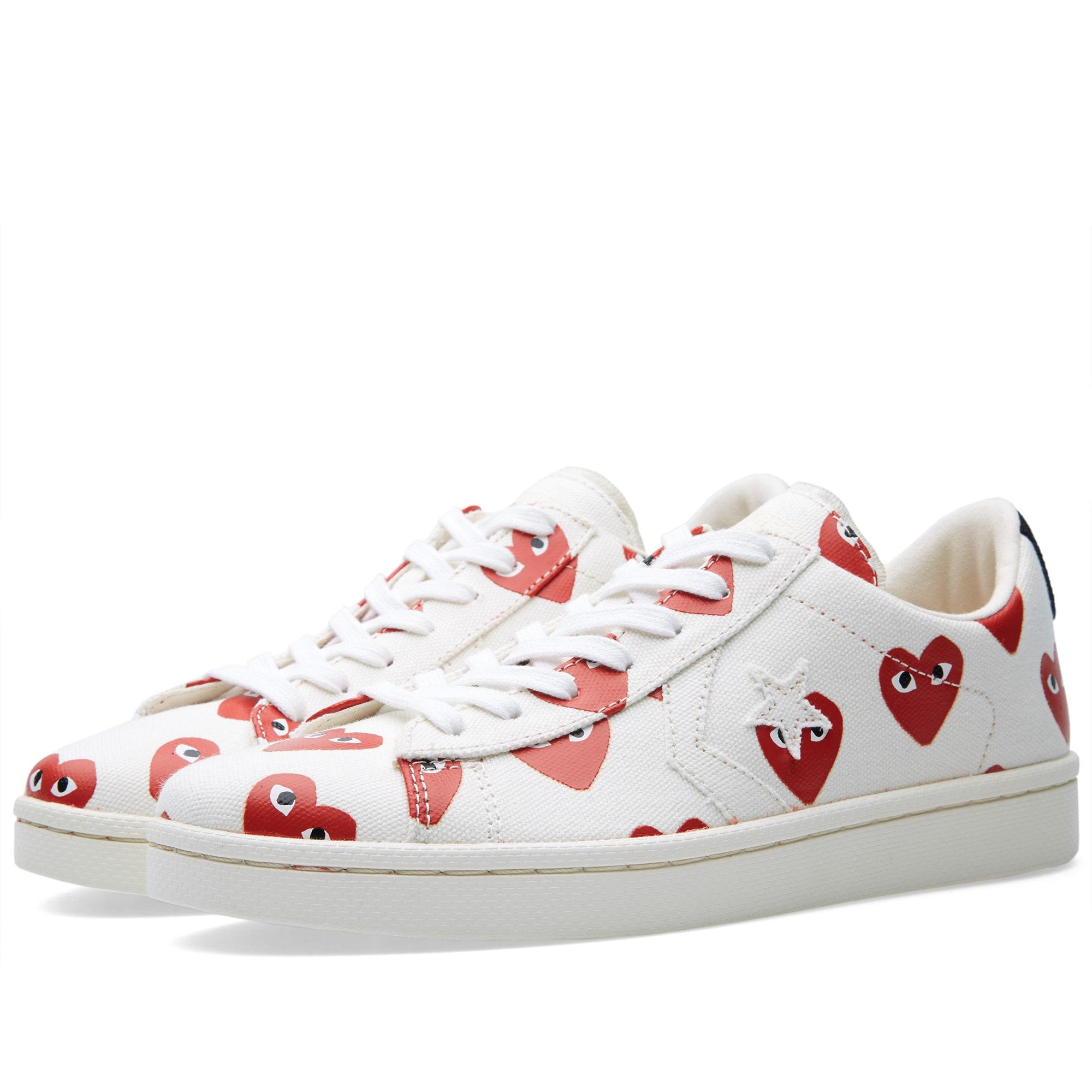 Comme des Garcons x Converse Pro Leather Shoes