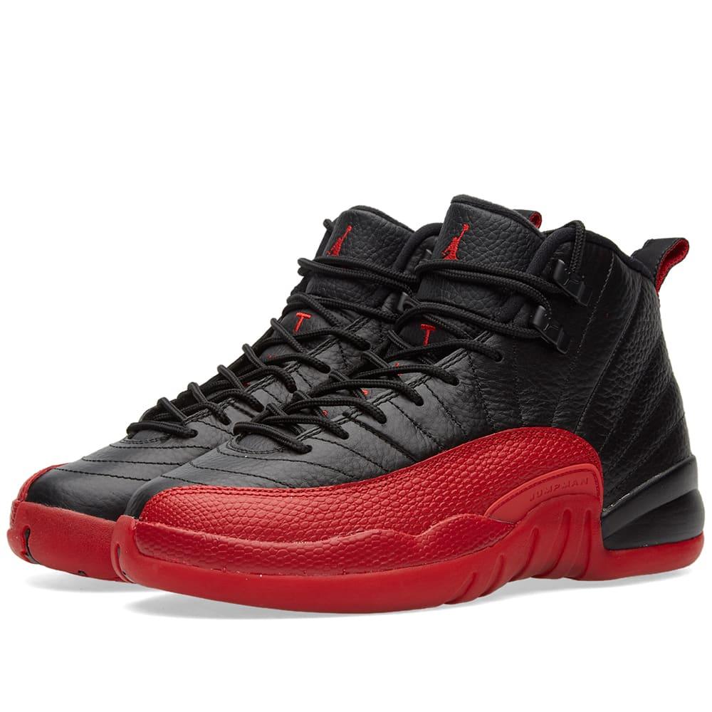 Nike Air Jordan 12 Retro BG Black