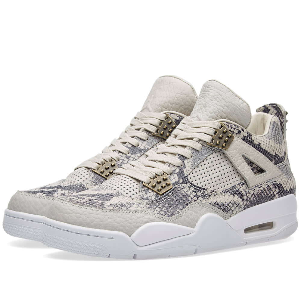00aa775bdff1 Nike Air Jordan 4 Retro Premium Light Bone