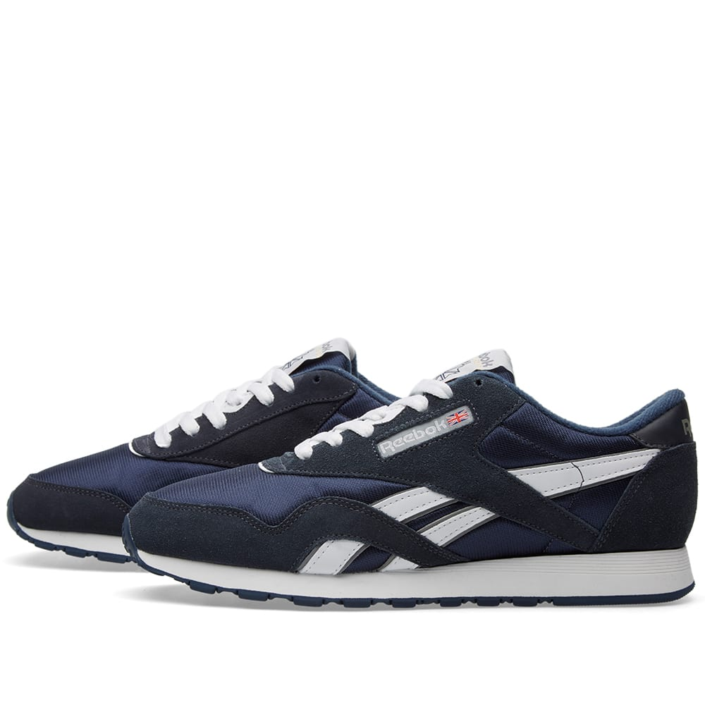 reebok classic nylon og team navy. Black Bedroom Furniture Sets. Home Design Ideas