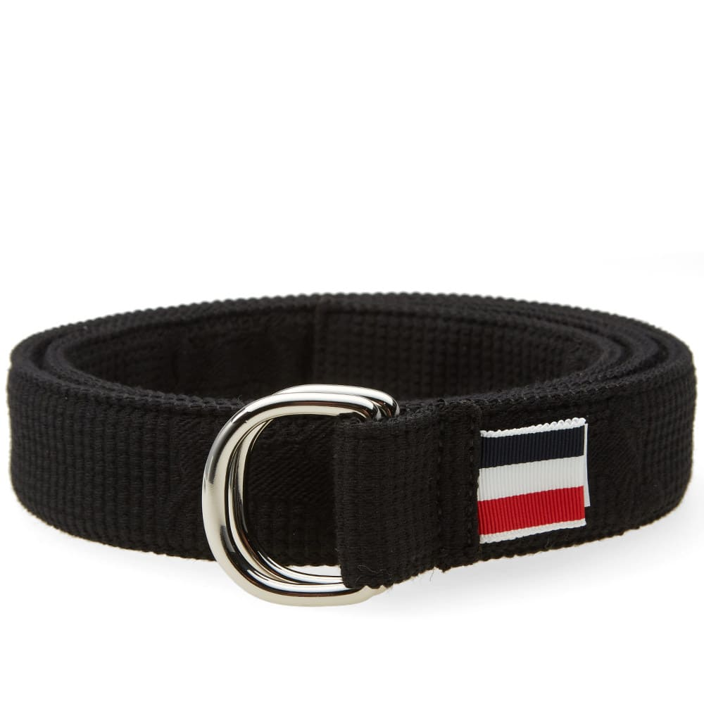 thom browne fabric hector belt black